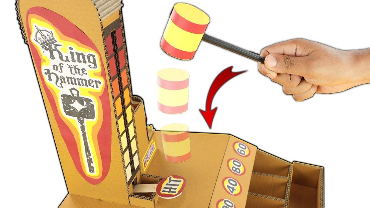 4 Cardboard Arcade